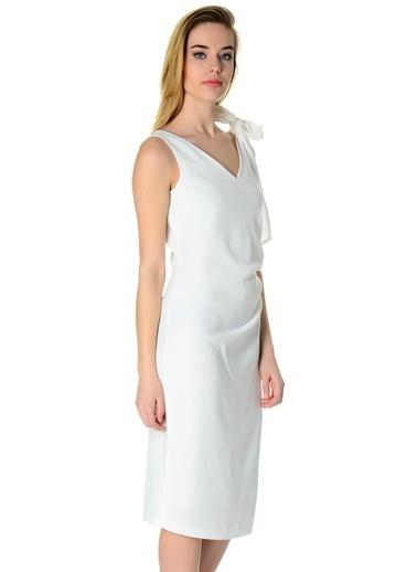 Cotton Bar Abiye Kıyafet Ekru